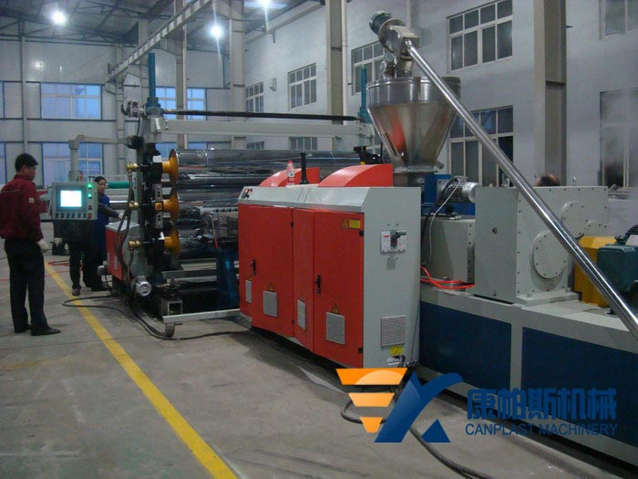 PVC transparent soft sheet extrusion line
